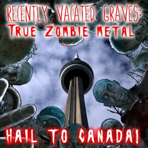 Hail to Canada EP Cover